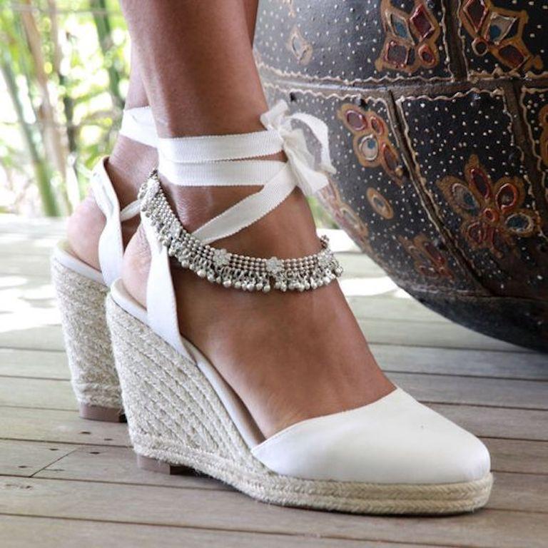 zapatos para novias, tendencias 2017