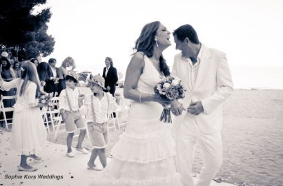 niños ceremonia boda