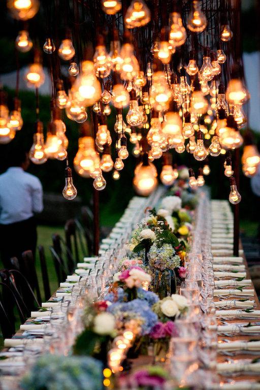 mesa boda boho chic