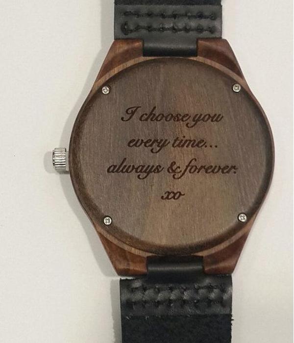 reloj grabado boda