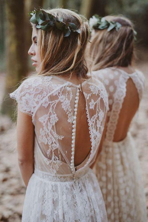 vestido novia boho chic
