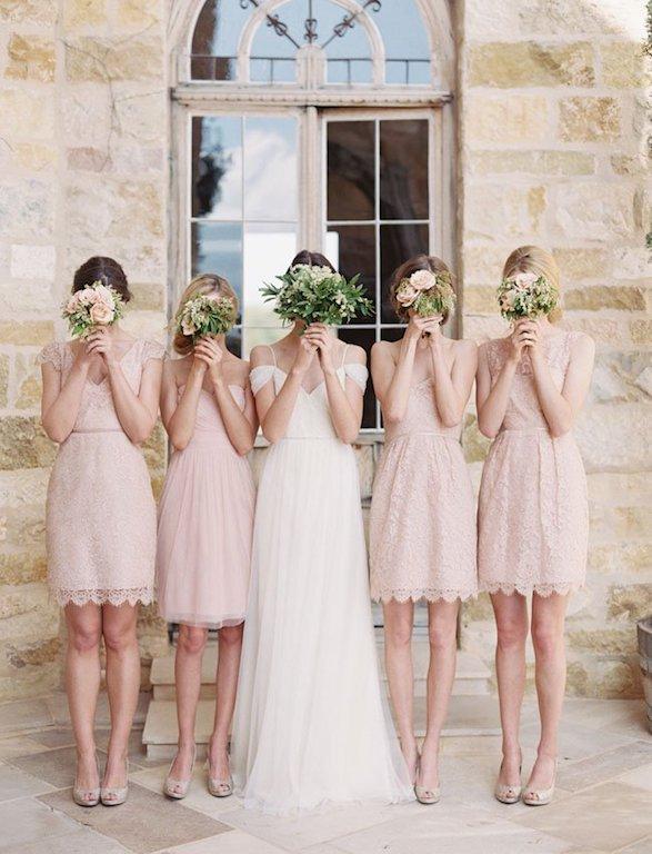 Vestidos Damas De Honor Corto Sophie Kors Weddings