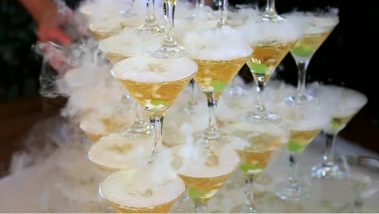 cocktail nitrógeno