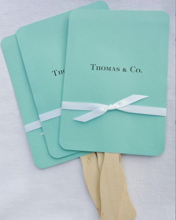Pai pai boda azul Tiffany