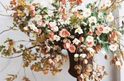 centro flores otoño