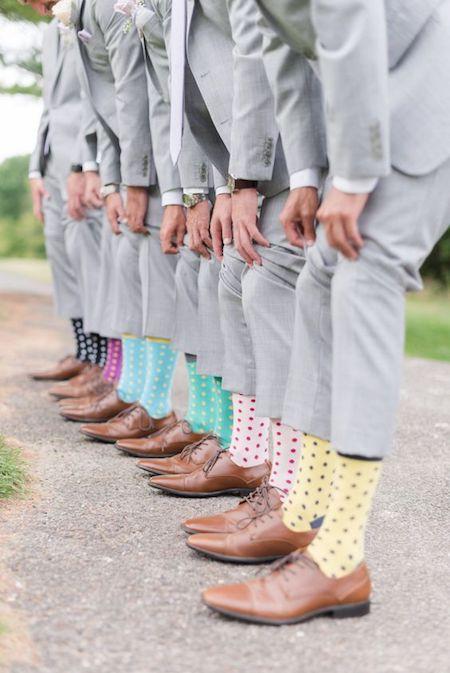 novio complementos calcetines