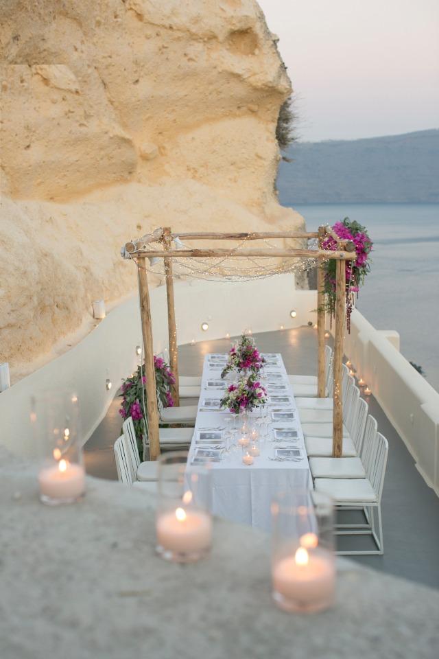 bodas íntimas mesa imperial