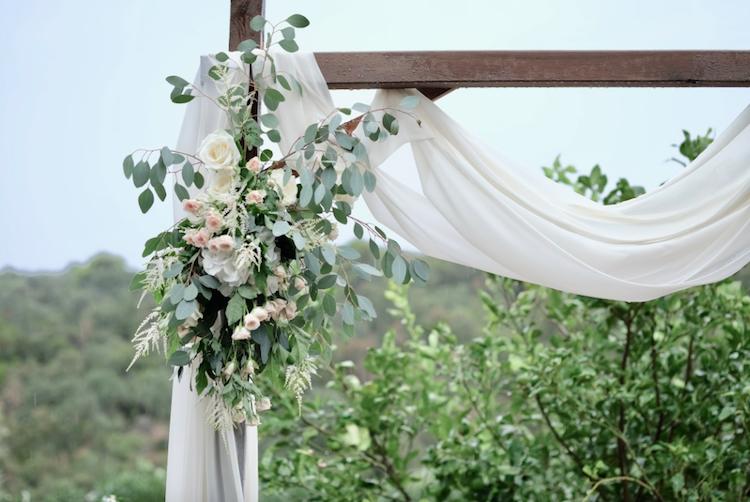 detalle altar boda