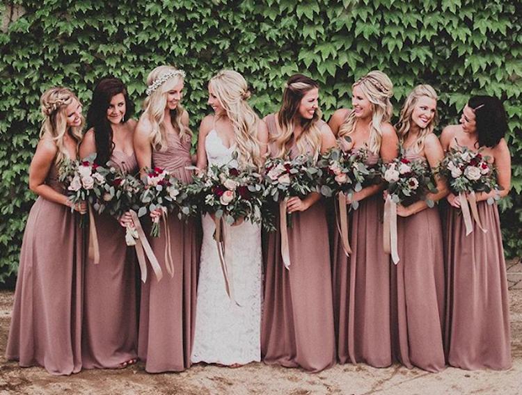 728ce6eee El color para las damas de honor en 2018 - Sophie Kors Weddings