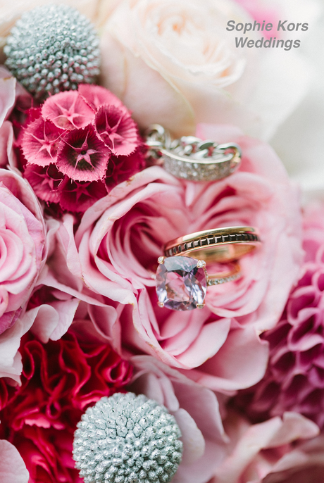 flores alianzas boda