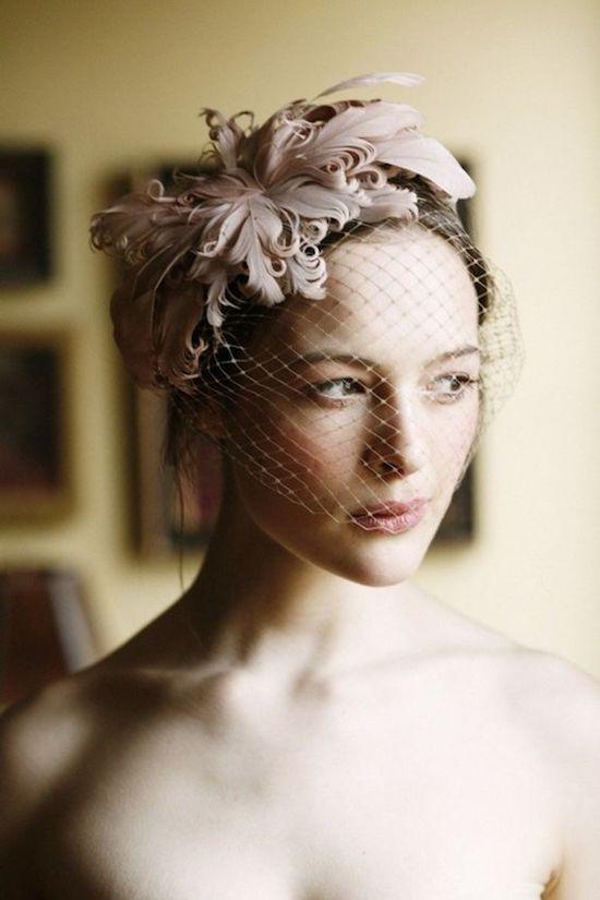 velo novia de estilo francés