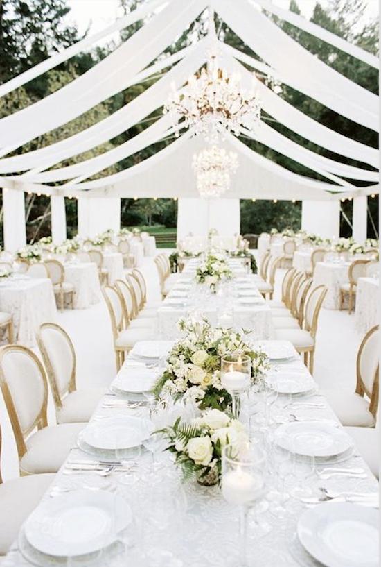 recepción bodas en blanco