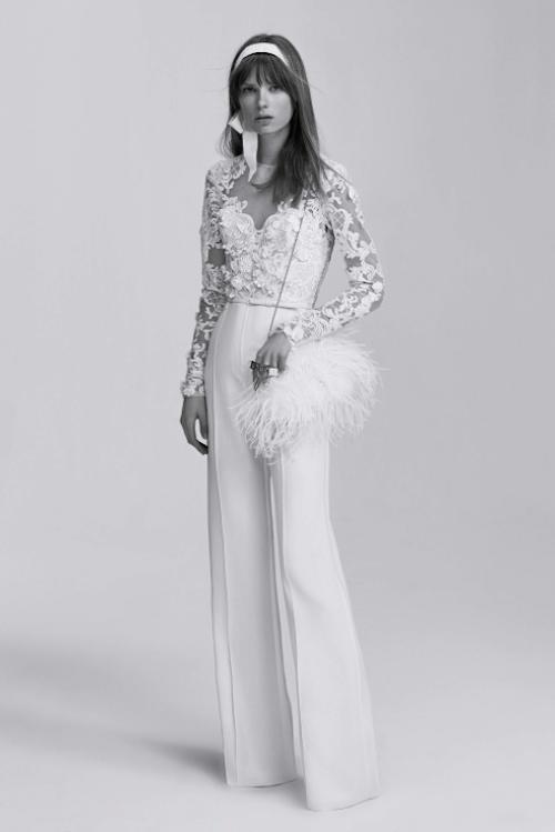 pantalones novia Elie Saab
