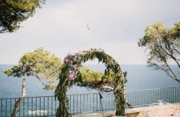arco altar boda