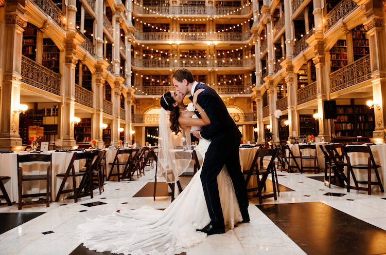boda biblioteca