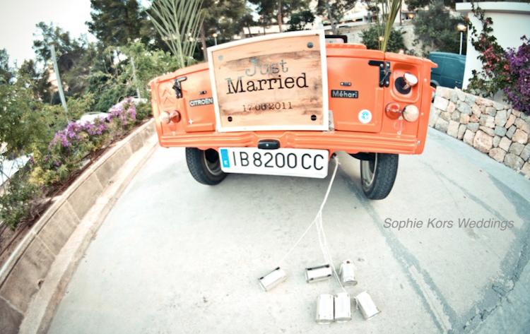 coche boda Mehari