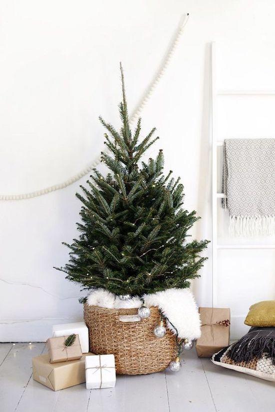 decoración Navidad minimalista
