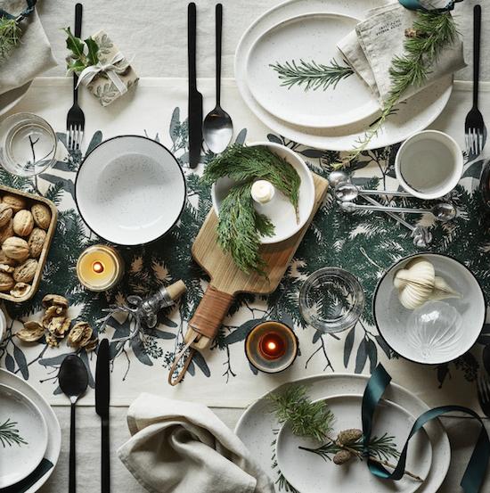 mesa boda invierno