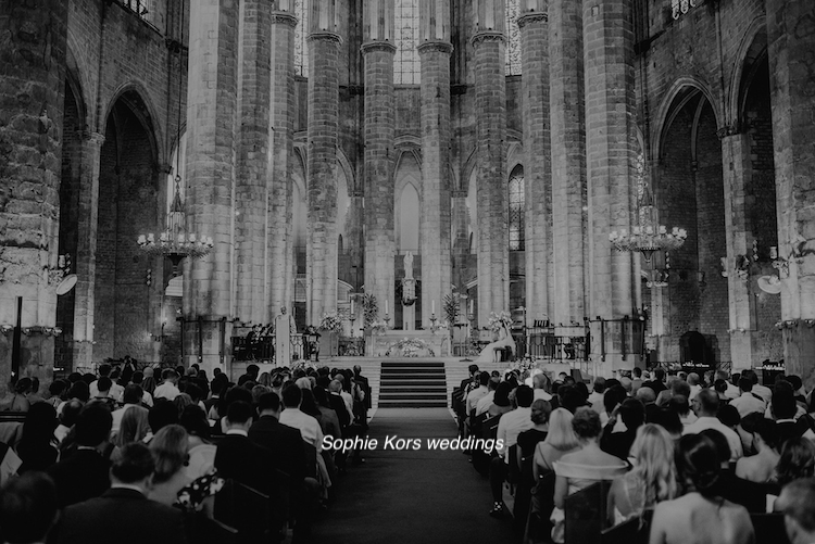 Sophie Kors weddings boda Santa Maria del mar