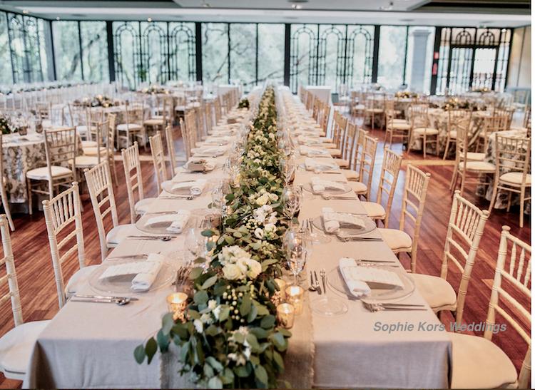 bodas Sophie Kors weddings mix mesas redondas y rectangulares