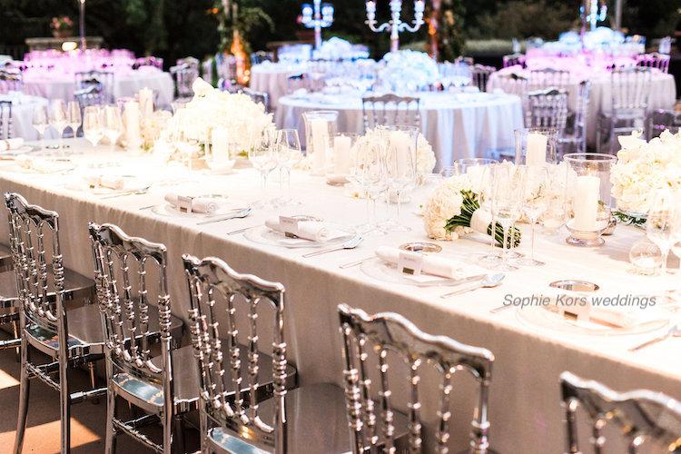 bodas Sophie Kors weddings mesa presidencial