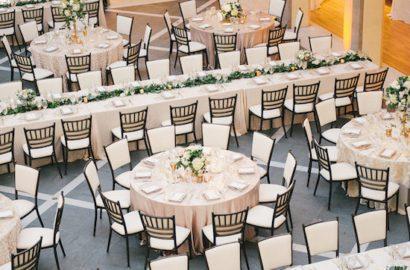 Mesas redondas vs mesas rectangulares