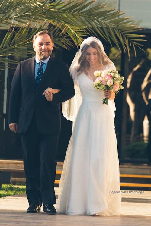 padre y novia