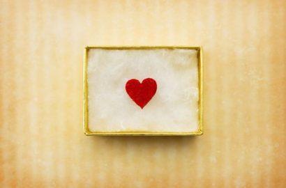 regalo con corazon