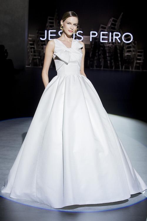 vestido novia lazo