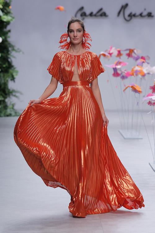 vestido rojo invitada boda