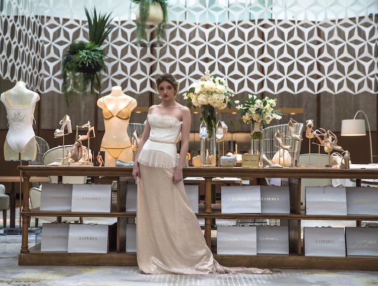 vestido novia La Perla