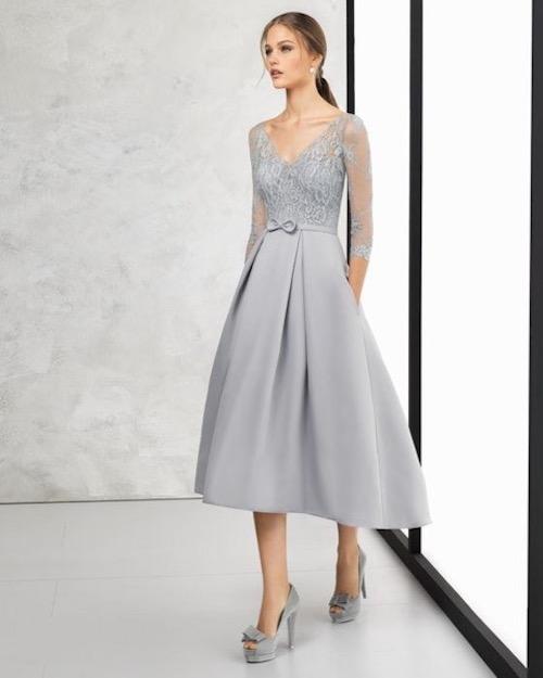 vestido corto madrina ideal