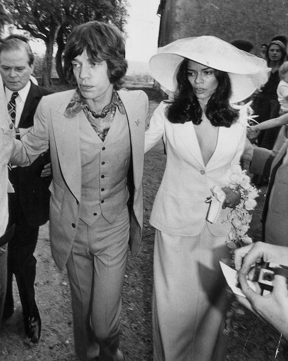 Vestido novia Bianca Jagger