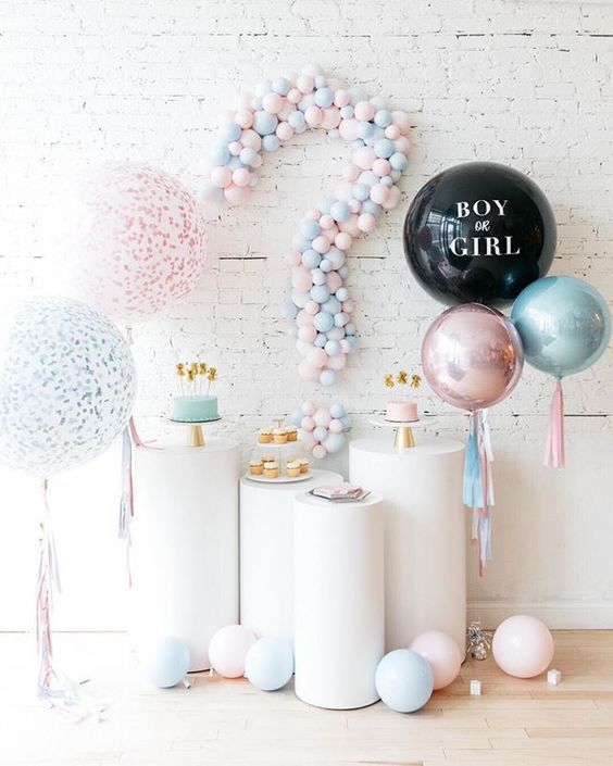 baby shower globos
