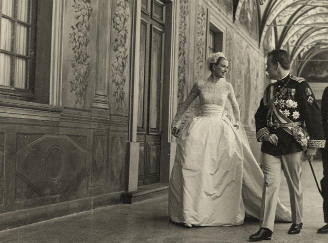 vestido novia Grace de Monaco
