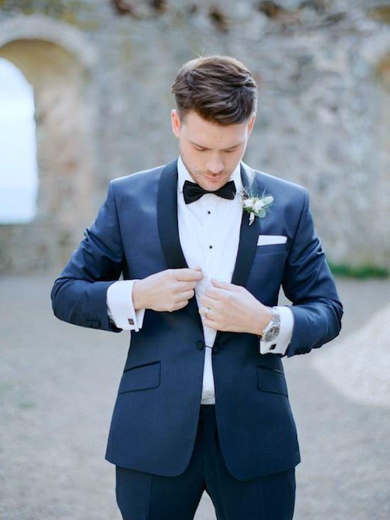 classic blue outfit novios bodas 2020