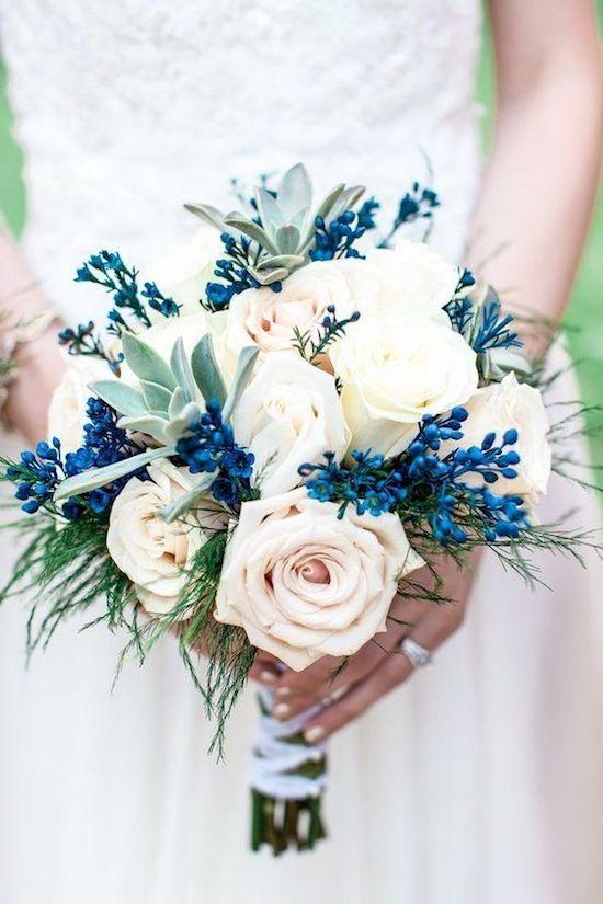 ramo novia classic blue bodas 2020