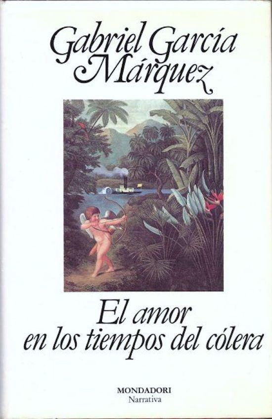 portada libro el amor en tiempos de colera top five san valentín