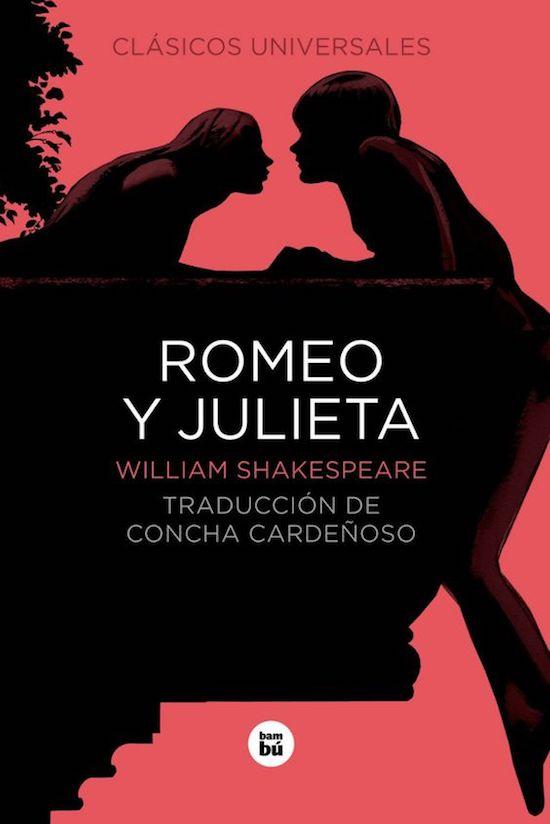 portada libro romeo y Julieta top five san Valentín