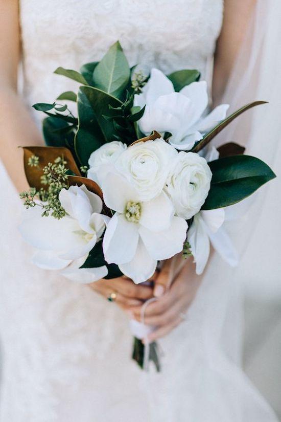 ramo de la novia Magnolio