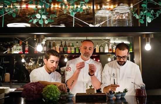 restaurante virens almanac hotel barcelona