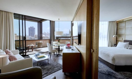terrace suite almanac hotel barcelona